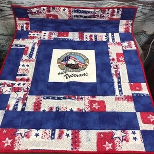 Other - Veterans Blanket 31 X 38 inches